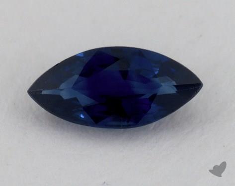 <b>1.39</b> carat Marquise Natural Blue Sapphire