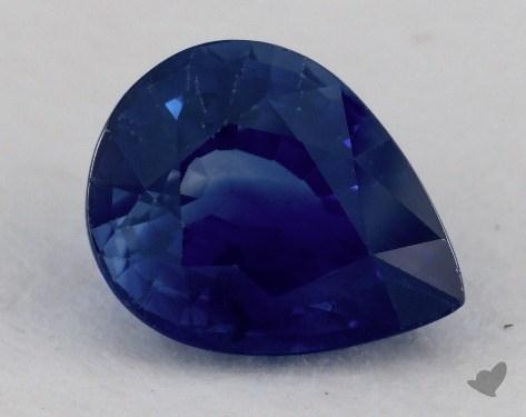 <b>3.05</b> carat Pear Natural Blue Sapphire