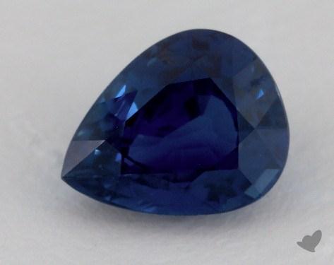 <b>3.10</b> carat Pear Natural Blue Sapphire
