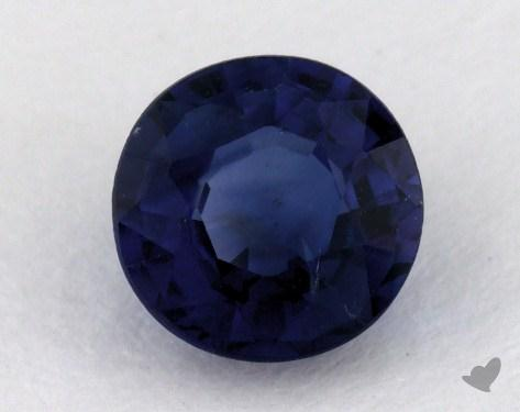 <b>0.83</b> carat Round Natural Blue Sapphire