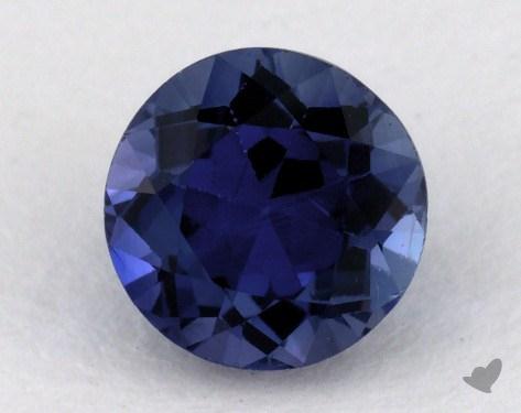 <b>1.03</b> carat Round Natural Blue Sapphire