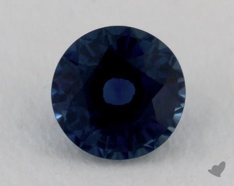 <b>1.10</b> carat Round Natural Blue Sapphire