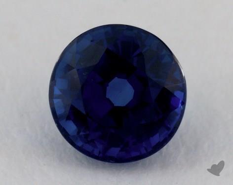 <b>1.42</b> carat Round Natural Blue Sapphire