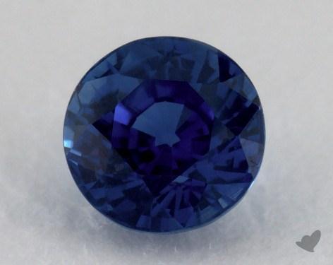 <b>1.44</b> carat Round Natural Blue Sapphire