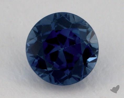 <b>1.45</b> carat Round Natural Blue Sapphire