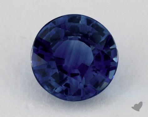 <b>1.54</b> carat Round Natural Blue Sapphire