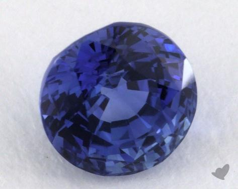 <b>2.04</b> carat Round Natural Blue Sapphire