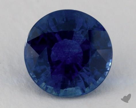 <b>2.62</b> carat Round Natural Blue Sapphire