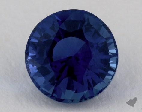 <b>3.35</b> carat Round Natural Blue Sapphire