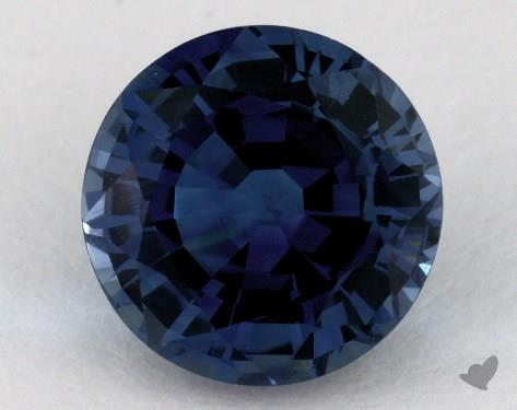 <b>3.45</b> carat Round Natural Blue Sapphire