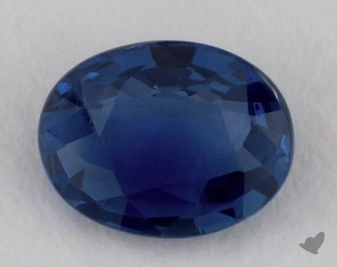 <b>0.98</b> carat Oval Natural Blue Sapphire