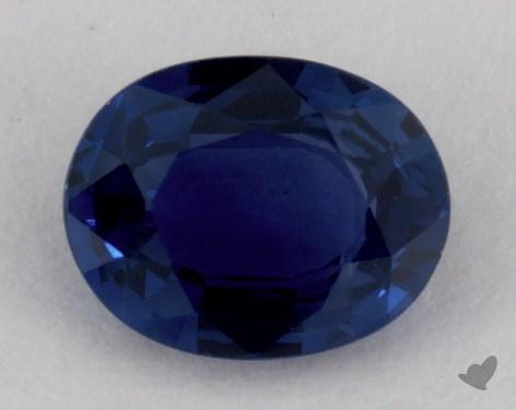 <b>1.01</b> carat Oval Natural Blue Sapphire
