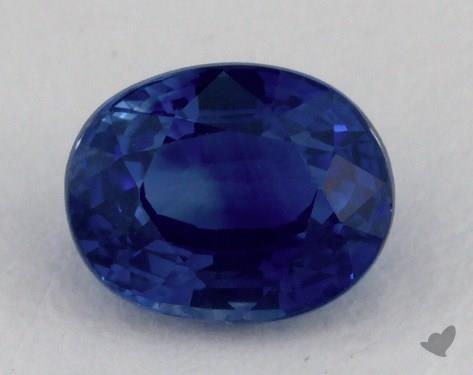 <b>1.03</b> carat Oval Natural Blue Sapphire