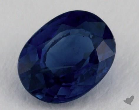 <b>1.05</b> carat Oval Natural Blue Sapphire