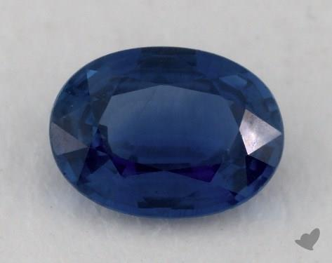 <b>1.12</b> carat Oval Natural Blue Sapphire
