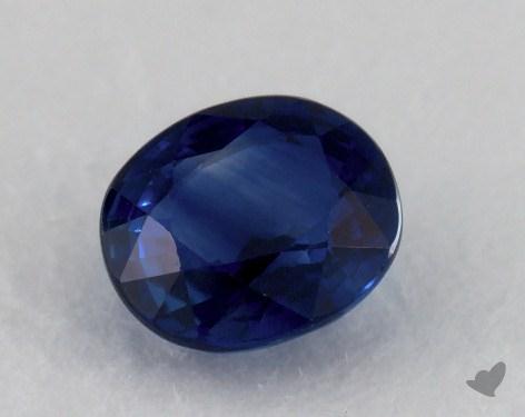 <b>1.18</b> carat Oval Natural Blue Sapphire