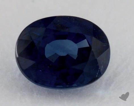<b>2.38</b> carat Oval Natural Blue Sapphire