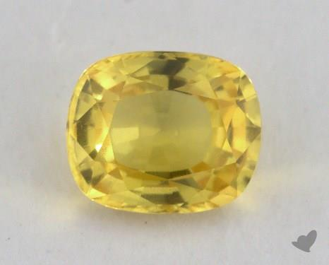 <b>1.84</b> carat Cushion Natural Yellow Sapphire
