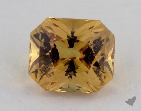 <b>3.33</b> carat Radiant Natural Yellow Sapphire
