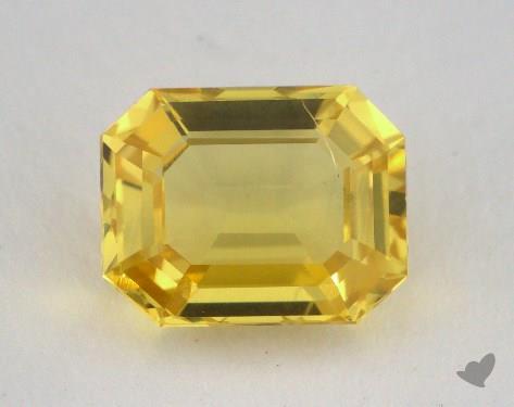 <b>2.48</b> carat Emerald Natural Yellow Sapphire
