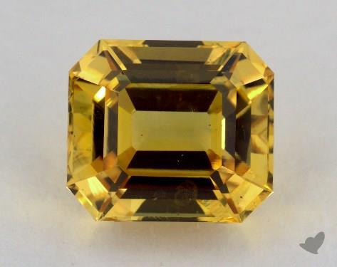 <b>4.38</b> carat Emerald Natural Yellow Sapphire
