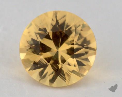 <b>1.19</b> carat Round Natural Yellow Sapphire