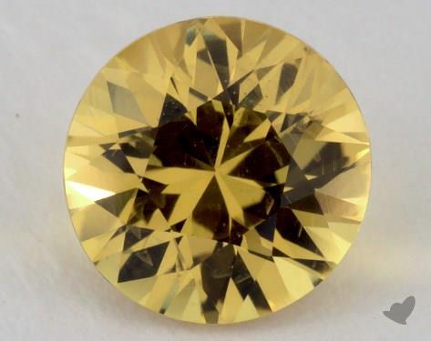 <b>1.78</b> carat Round Natural Yellow Sapphire