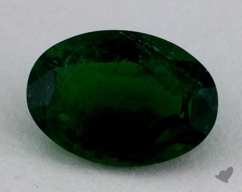 <b>1.16</b> carat Oval Natural Green Emerald