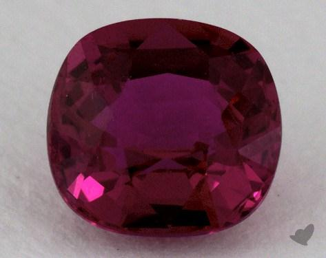 <b>1.53</b> carat Cushion Natural Ruby
