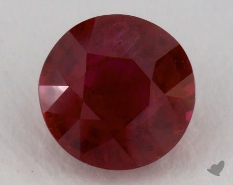 <b>1.60</b> carat Round Natural Ruby