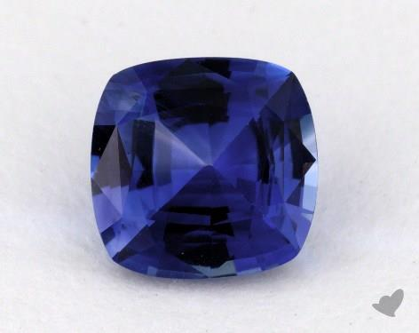 <b>1.41</b> carat Cushion Natural Blue Sapphire