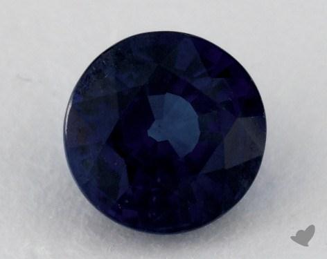 <b>1.47</b> carat Round Natural Blue Sapphire