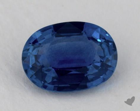 <b>1.43</b> carat Oval Natural Blue Sapphire