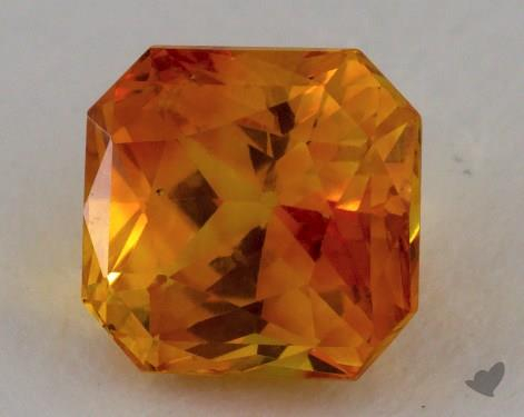 <b>2.56</b> carat Radiant Natural Yellow Sapphire