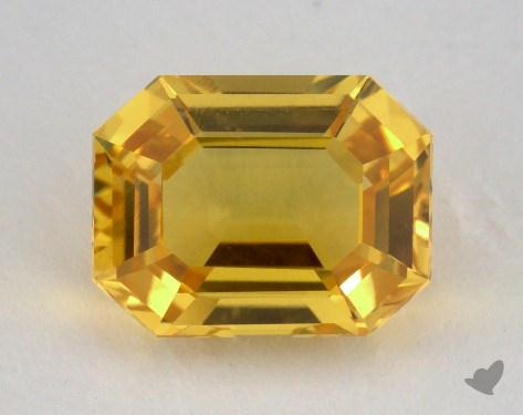 <b>2.35</b> carat Emerald Natural Yellow Sapphire