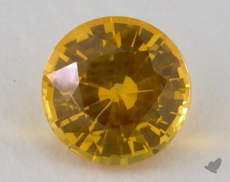 <b>1.48</b> carat Round Natural Yellow Sapphire