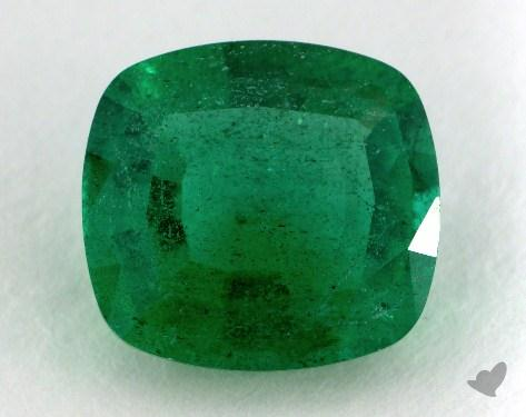 <b>1.94</b> carat Cushion Natural Green Emerald