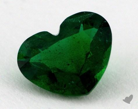 <b>2.10</b> carat Heart Natural Emerald