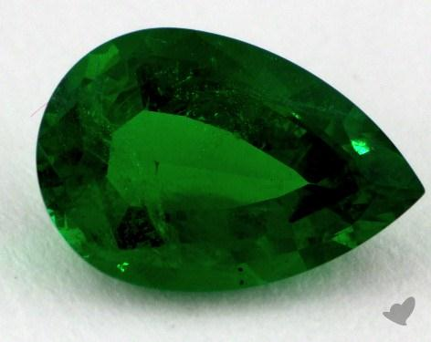 <b>1.91</b> carat Pear Natural Emerald