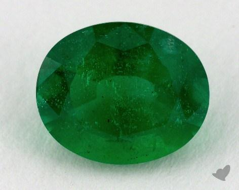 <b>2.58</b> carat Oval Natural Green Emerald