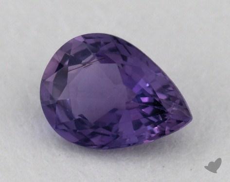 <b>1.08</b> carat Pear Natural Pink Sapphire