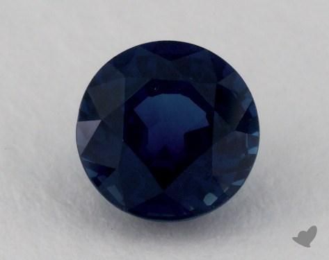 <b>1.09</b> carat Round Natural Blue Sapphire