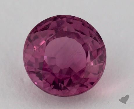 <b>1.90</b> carat Round Natural Lavender Sapphire