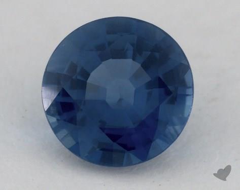 <b>1.30</b> carat Round Natural Blue Sapphire