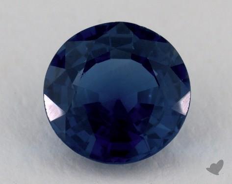 <b>2.30</b> carat Round Natural Blue Sapphire