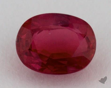 <b>1.08</b> carat Cushion Natural Ruby