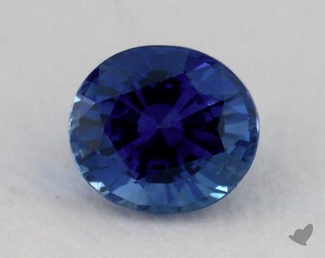 <b>1.10</b> carat Cushion Natural Blue Sapphire