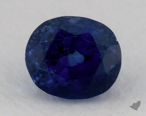 <b>1.47</b> carat Cushion Natural Blue Sapphire