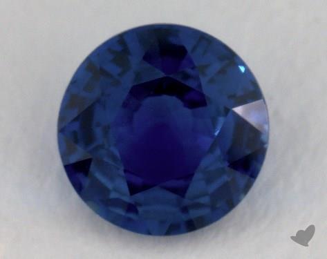 <b>1.55</b> carat Round Natural Blue Sapphire