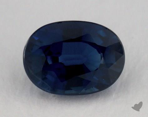 <b>1.13</b> carat Oval Natural Blue Sapphire